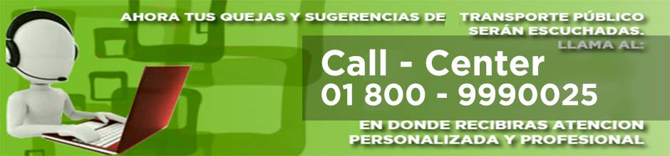 Call-Center Transporte Público